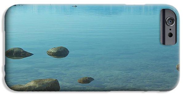 Crystal Clear Lake Tahoe IPhone Case by Kim Hojnacki