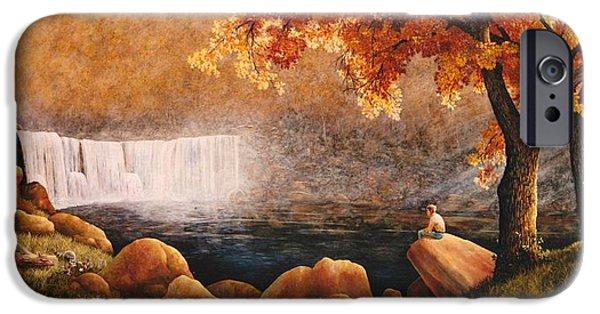 Cumberland Falls IPhone Case by Duane R Probus