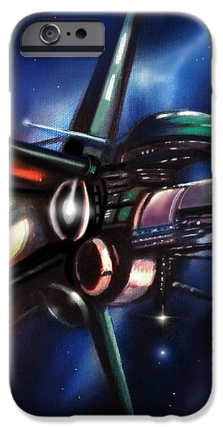 Daedalus Destroyer IPhone Case by James Christopher Hill