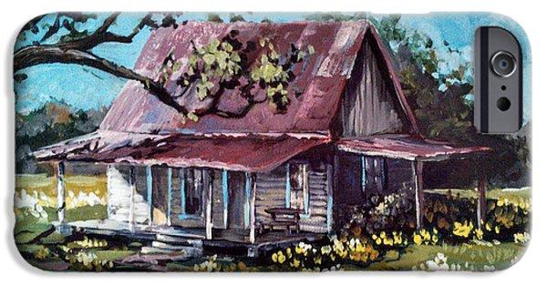 Daffodil Hill IPhone Case by Cynara Shelton