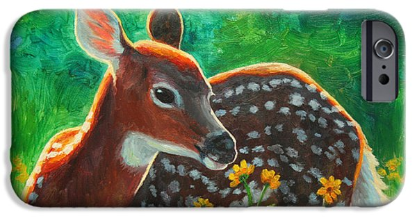 Daisy Deer IPhone 6s Case by Crista Forest