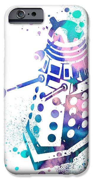 Dalek 2 IPhone Case by Luke and Slavi