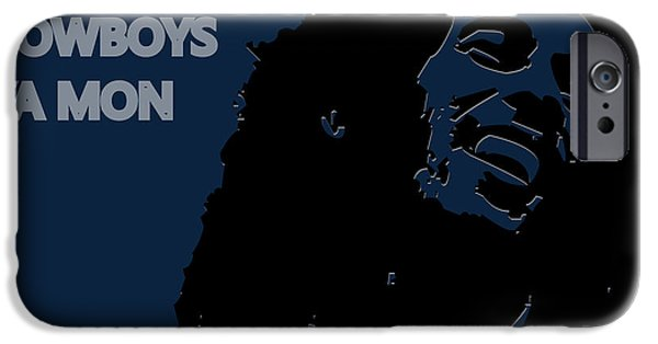 Dallas Cowboys Ya Mon IPhone Case by Joe Hamilton