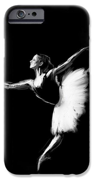 Dancer IPhone Case by H James Hoff