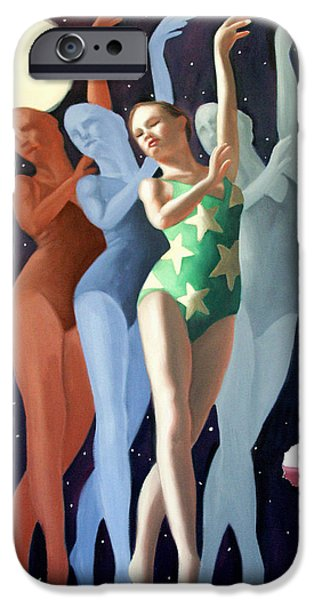 Dancing In The Moonlight IPhone Case by Anthony Falbo