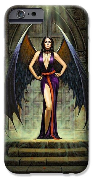 Dark Angel IPhone Case by Chris Heitt