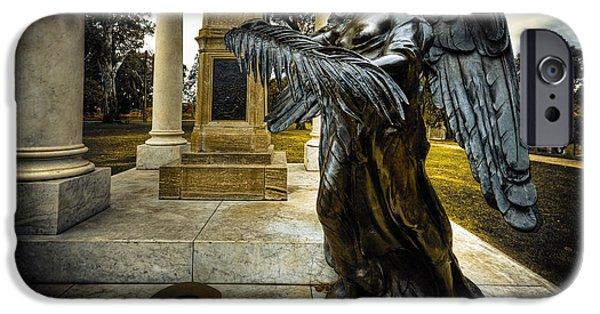 Dark Angel IPhone Case by Wayne Sherriff