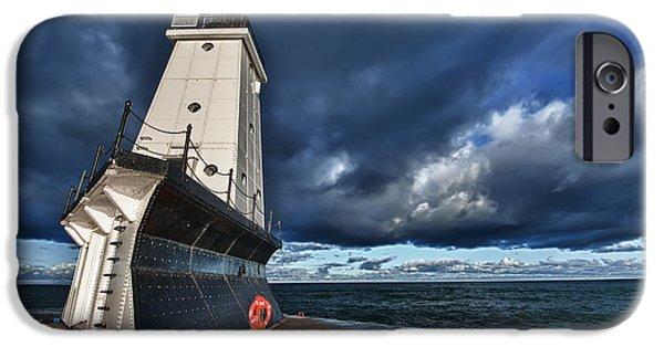 Dark Clouds IPhone Case by Sebastian Musial