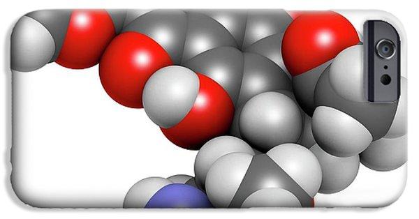 Daunorubicin Cancer Drug Molecule IPhone Case by Molekuul