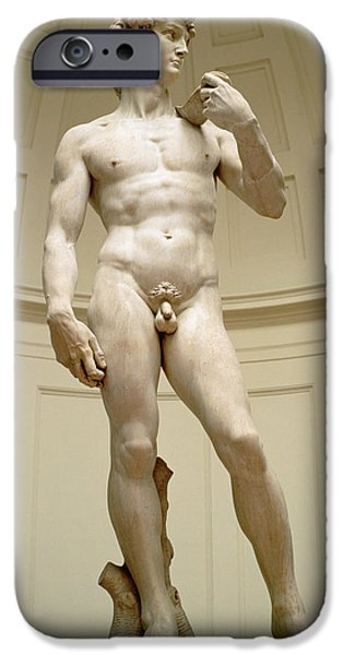 David IPhone Case by Michelangelo Buonarroti