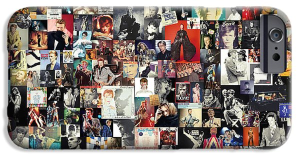 David Bowie Collage IPhone 6s Case by Taylan Soyturk