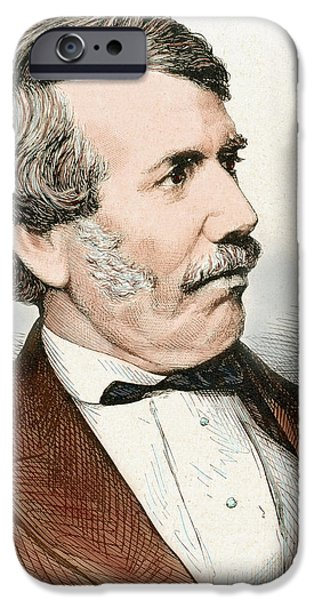 David Livingstone (1813-1873 IPhone Case by Prisma Archivo