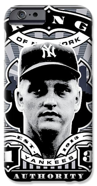 Dcla Roger Maris Kings Of New York Stamp Artwork IPhone 6s Case by David Cook Los Angeles