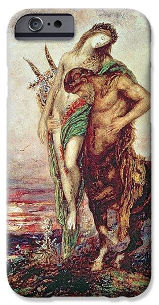 Dead Poet Borne By Centaur IPhone 6s Case by Gustave Moreau