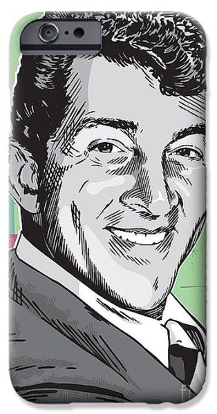 Dean Martin Pop Art IPhone 6s Case by Jim Zahniser