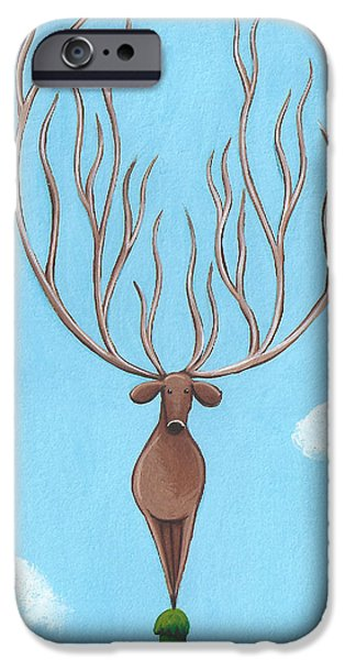 Deer Nursery Art IPhone 6s Case by Christy Beckwith