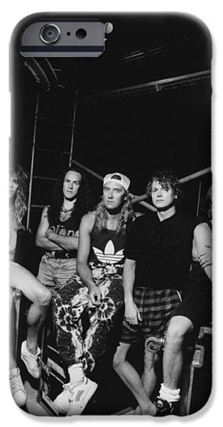 Def Leppard - Adrenalize Tour B&w 1992 IPhone 6s Case by Epic Rights