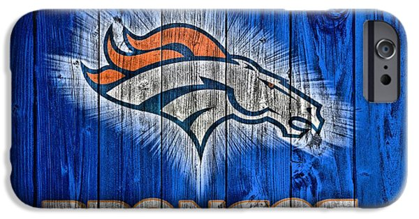 Denver Broncos Barn Door IPhone Case by Dan Sproul