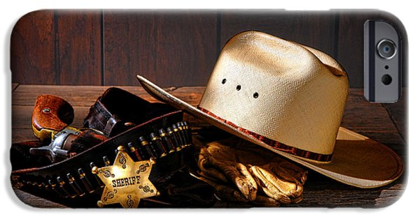 Deputy Sheriff Gear  IPhone Case by Olivier Le Queinec