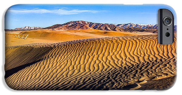 Desert Lines IPhone Case by Chad Dutson