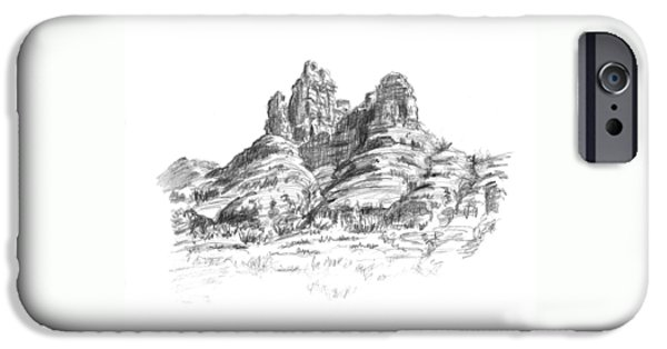 Desert Mountains IPhone Case by Sarah Parks