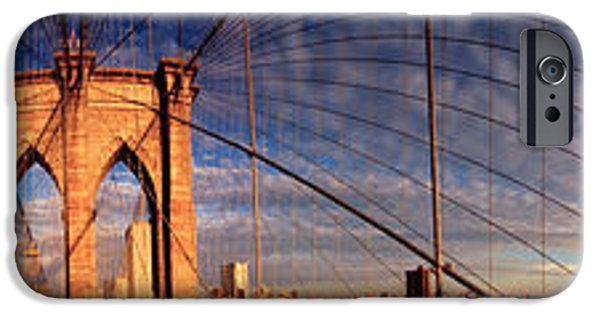 Details Of The Brooklyn Bridge, New IPhone Case by Panoramic Images
