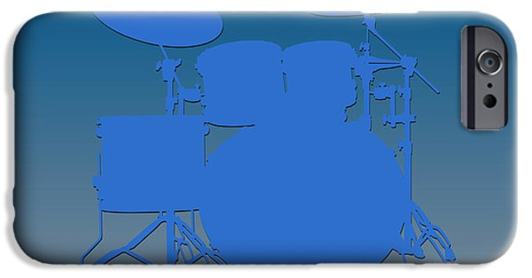 Detroit Lions Drum Set IPhone Case by Joe Hamilton