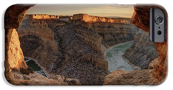 Devil Canyon View IPhone Case by Leland D Howard