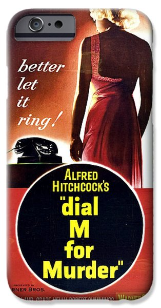 Dial M For Murder - 1954 IPhone 6s Case by Georgia Fowler