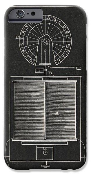 Dial Telegraph IPhone Case by King's College London