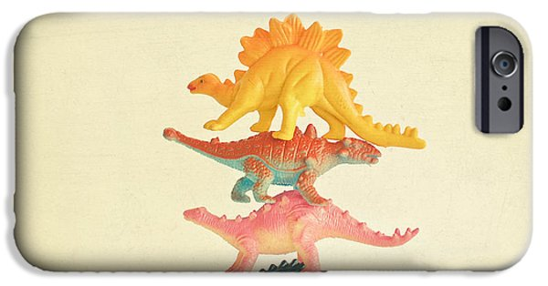 Dinosaur Antics IPhone 6s Case by Cassia Beck
