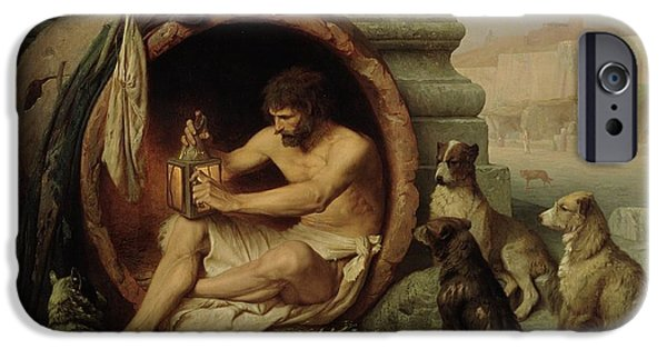 Diogenes IPhone Case by Jean Leon Gerome