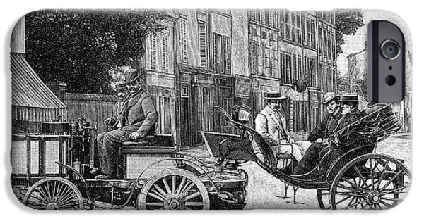 Dion Steam Carriage IPhone Case by Science Photo Library