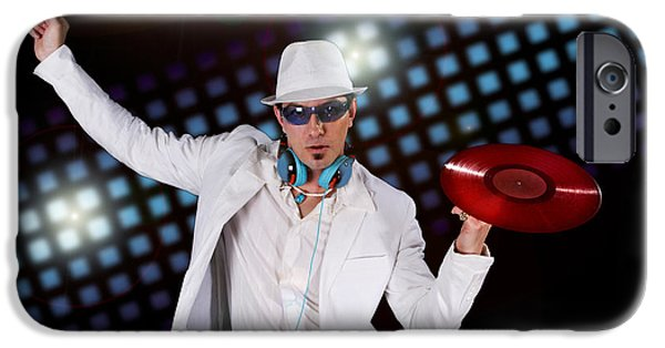 Disco Dj IPhone Case by Jt PhotoDesign