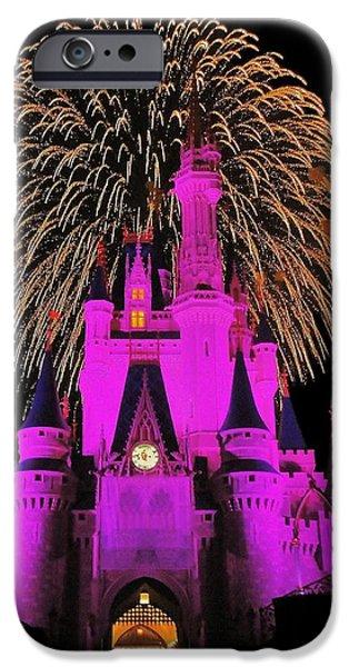 Disney Magic IPhone Case by Benjamin Yeager