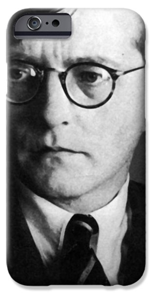 Dmitri Shostakovich IPhone Case by Unknown