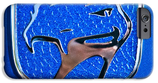 Dodge Viper Emblem -217c IPhone Case by Jill Reger