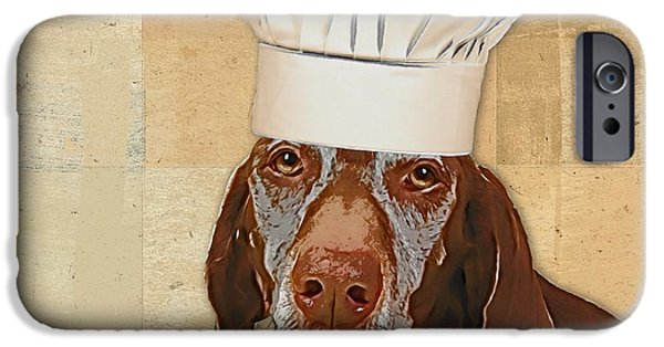 Dog Personalities 56 Chef IPhone Case by Variance Collections