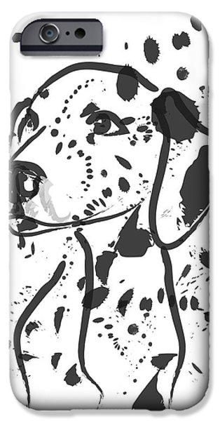 Dog Spot IPhone Case by Go Van Kampen
