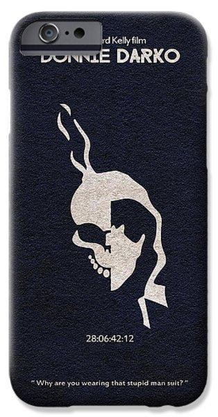 Donnie Darko IPhone Case by Ayse Deniz