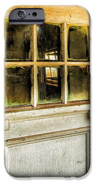 Door And Windows IPhone Case by Theresa Tahara