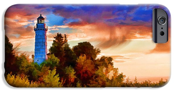 Door County Cana Island Wisp IPhone Case by Christopher Arndt