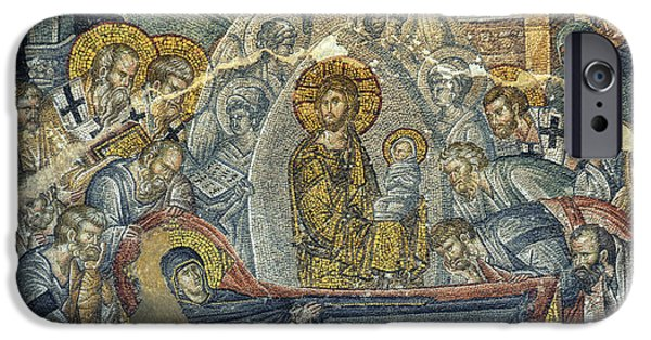 Dormition Of The Virgin IPhone Case by Taylan Soyturk