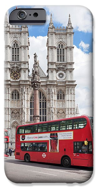 Double-decker Buses Passing IPhone 6s Case by Panoramic Images