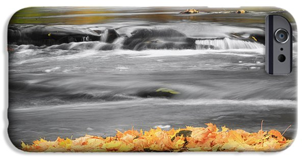 Down On The River Square IPhone Case by Bill Wakeley