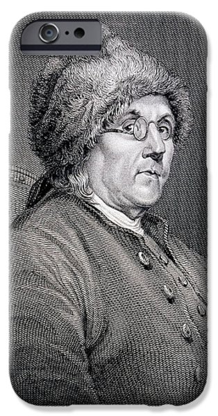 Dr Benjamin Franklin IPhone Case by English School