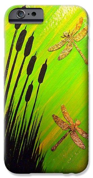 Dragonfly Dreams IPhone Case by Darren Robinson