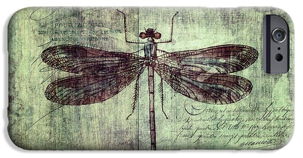 Dragonfly IPhone 6s Case by Priska Wettstein