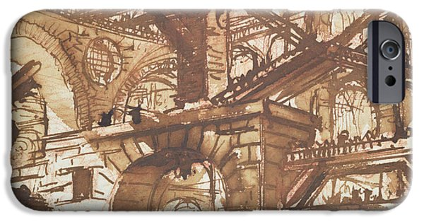 Drawing Of An Imaginary Prison IPhone 6s Case by Giovanni Battista Piranesi