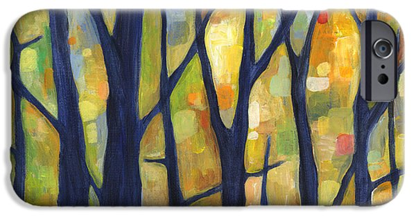 Dreaming Trees 2 IPhone Case by Hailey E Herrera